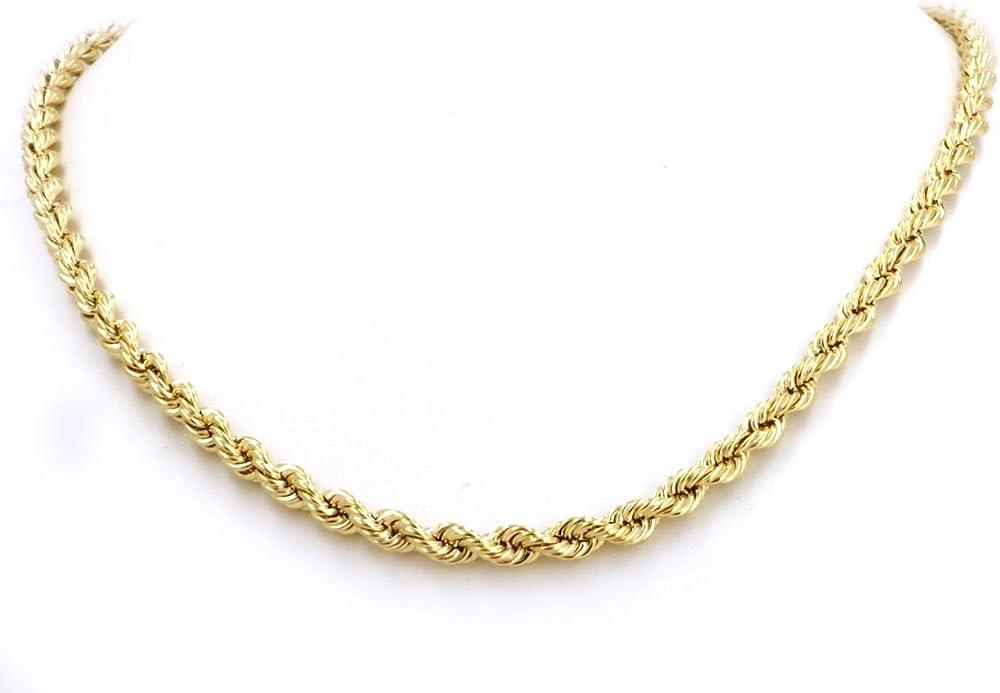 Lifetime bling collana unisex con ciondolo a forma di croce in oro 24 carati NA 1