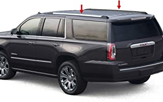 Made in USA! Works with 2015-2019 Chevy Suburban | GMC Yukon XL Roof Rack Body Molding Trim Cover 2PC