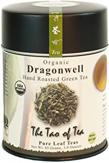 The Tao of Tea, Dragonwell Green Tea, Loose Leaf, 3 Ounce Tin