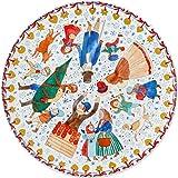 Hutschenreuther 02471-727312-12784 Weihnachtsmarkt 28 cm Plätzchenteller, Porzellan