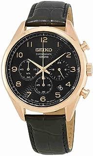 Seiko Chronograph Black Dial Mens Watch SSB296P1