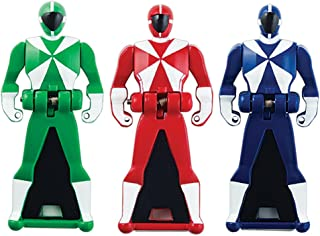 Power Rangers Super Megaforce - Lightspeed Rescue Legendary Ranger Key Pack, Red/Blue/Green