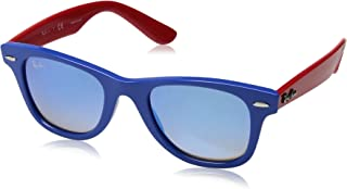 RAY-BAN JUNIOR RJ9066S Wayfarer Kids Sunglasses,...