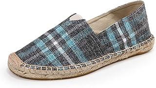 fereshte Women's Men's Casual Espadrilles Loafers Breathable Flats Shoes
