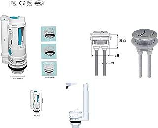 HOUSLER V/álvula de Repuesto de Cisterna Doble de Inodoro con bot/ón