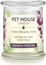 One Fur All 100% Natural Soy Wax Candle, 20 Fragrances - Pet Odor Eliminator, Appx 60 Hrs Burn Time, Non-Toxic, Reusable G...