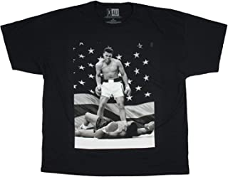 Muhammad Ali Greatest of All TIme American Flag Knockout Men's T-shirt