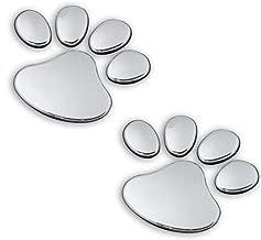 Iuhan Pet Animal Paw Footprints Emblem Car Truck Decor D Sticker Decal