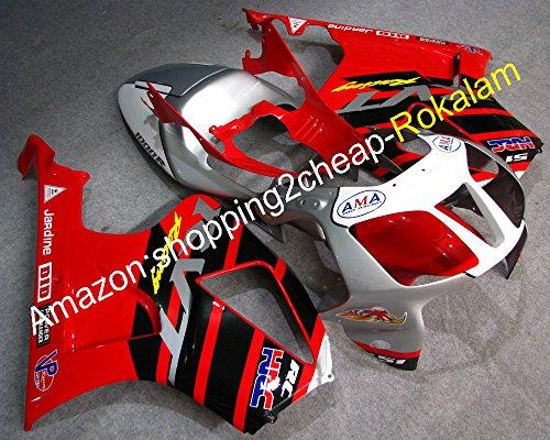 LoveMoto Full Motorcycle Fairing Bolt Screw Kit For Honda RVT1000R 2000-2006 VTR-1000 RC51 SP1 SP2 New Body Screws Aluminum Fasteners Hardware Clips Blue Silver