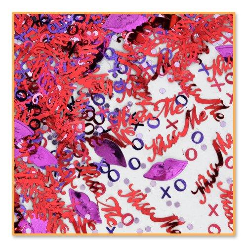 Beistle léopard Cn117 Kiss Me Confetti