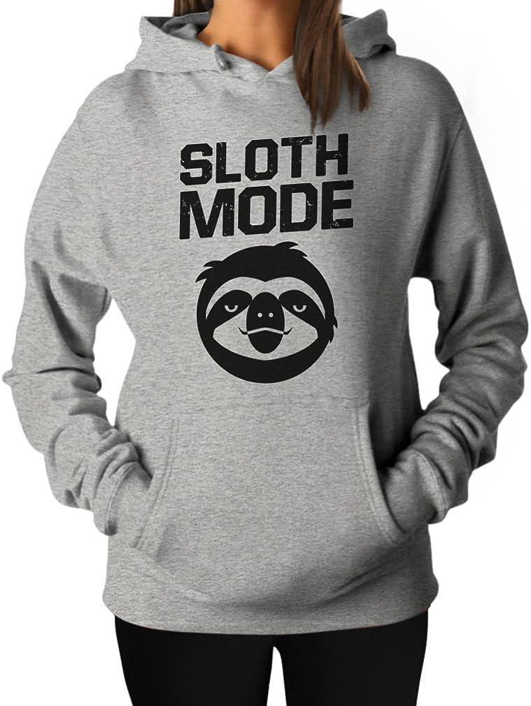 Women's Sloth Mode Hoodie Sloth Lover Hooded Top