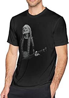 Absolute Cult Willie Nelsn Men's Dangerous Fit T-Shirt