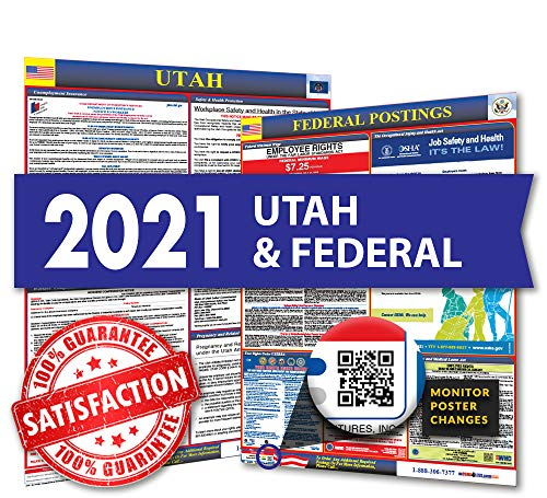 2020 Utah State & Federal Labor Law Posters for Workplace Compliance