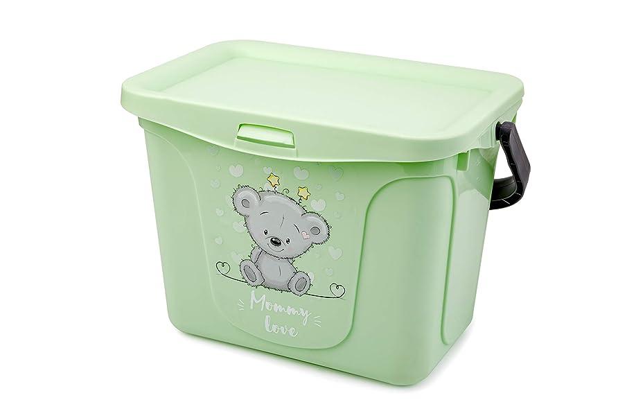 BEROSSI Mommy Love, Toys Organizer Container, Tea Tree