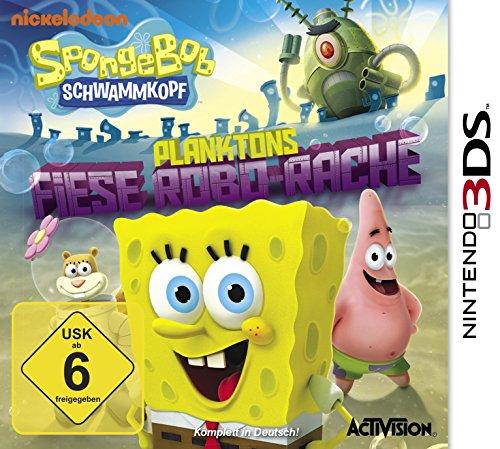 Activision 3DS SpongeBob Schwammkopf