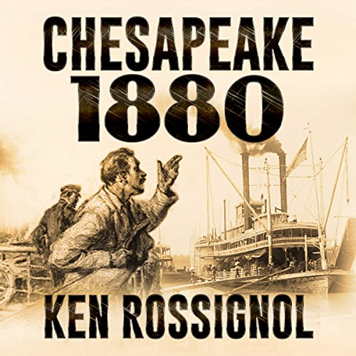 Chesapeake 1880 audiobook cover art