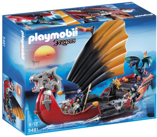 Playmobil Dragones - Barco de batalla del dragón (5481)
