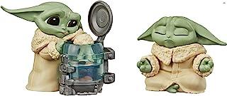 Star Wars The Bounty Collection Series 3 The Child Figuras coleccionables de 2.25 pulgadas Escala de niños curiosos, juguetes posados para meditación 2 unidades, edades 4 en adelante