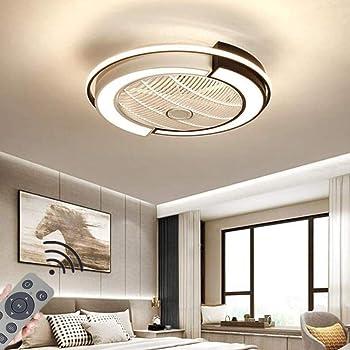 Deckenventilator mit Beleuchtung Kristall Dimmbare Deckenventilator Licht Deckenleuchte+Fernbedienung 50cm