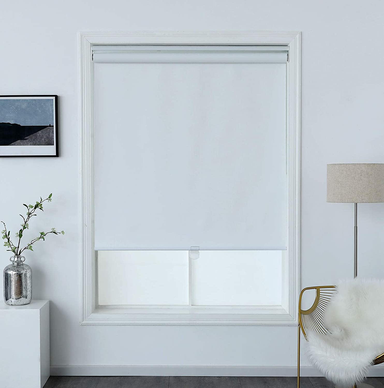 100% Blackout Textured 2021 spring and summer new Roller Shade In stock Thermal Proof Water Insulat