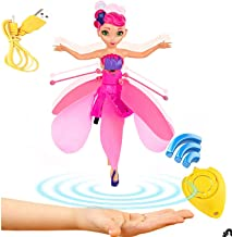 Anda Flying Fairy Doll Girl 6 Years Old, Infrared Sensor Control Remote Control Helicopter Child Toy Teen Toy Ballet Girl Flying Princess Doll