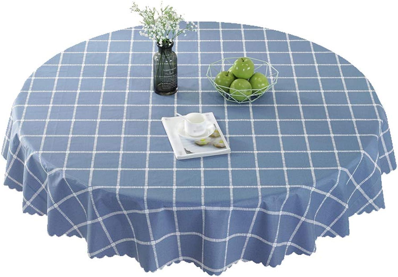 Precio por piso JXJJD Mantel a a a Prueba de Aceite Azul, a Prueba de Agua y Mantel rojoondo a Prueba de Aceite 120-360cm (Color   Diameter 135cm)  ofrecemos varias marcas famosas