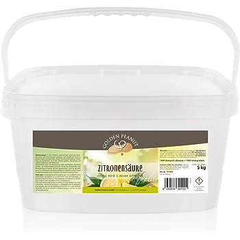 Zitronensäure monohydrat E-330, Lebensmittelqualität 5 kg Eimer