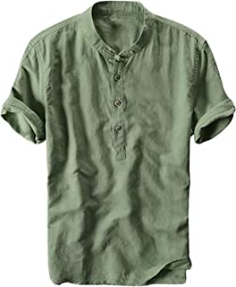 Camisetas Hombre Manga Corta Camisas Tops