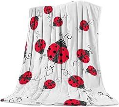 Girls Minnie Mouse Blanket Girls Ladybug Blanket Kids Fleece Blankets