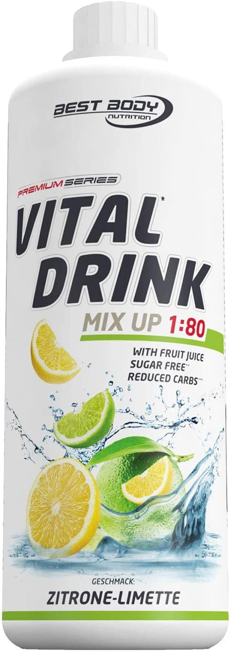 Vital Drink - Zitrone Limette Zuckerfrei