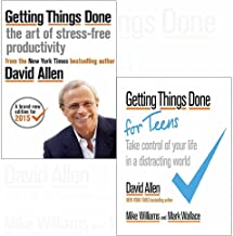 Getting things done art of stress-free productivity and take control of your life in a distracting world 2 books collectio...