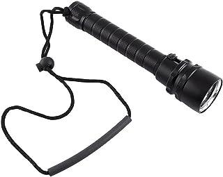 プロのダイビング懐中電灯 3x Cree XM-L L2 4800ルーメンLED、プロフェッショナルな懐中電灯 - 100M水中防水 - ランプ磁気制御スイッチトーチ