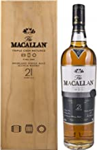 The Macallan Fine Oak 21 Years Aged Highland Single Malt Scotch Whisky, 70 cl