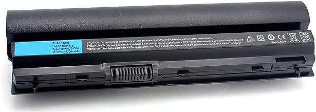 Binger E6320 FRROG Replacement Laptop Battery Compatible with Dell Latitude E6220 E6230 E6320 E6330 Series FRROG UJ499 TPHRG KJ321 Y61CV CWTM0 (60WH 11.1V 5200mAwh)