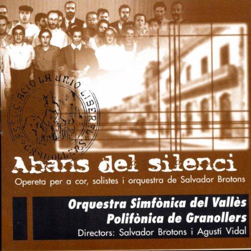 Acte Primer, Escena 2: Cançó Del Desfici (Cor D'Homes, Estanislau, Pietat I Orquestra)
