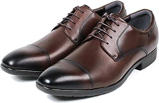 [セレブル] ビンソク BINSOKU 敏足 レザー ビジネスシューズ メンズ 本革 外羽根 ストレートチップ 紳士靴 撥水 軽量 抗菌 防臭 幅広 3e 防滑 歩きやすい