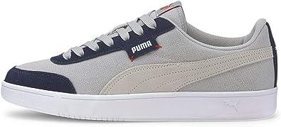 PUMA Mens Court Legend Lo Cv Lace Up Sneakers Shoes Casual - White