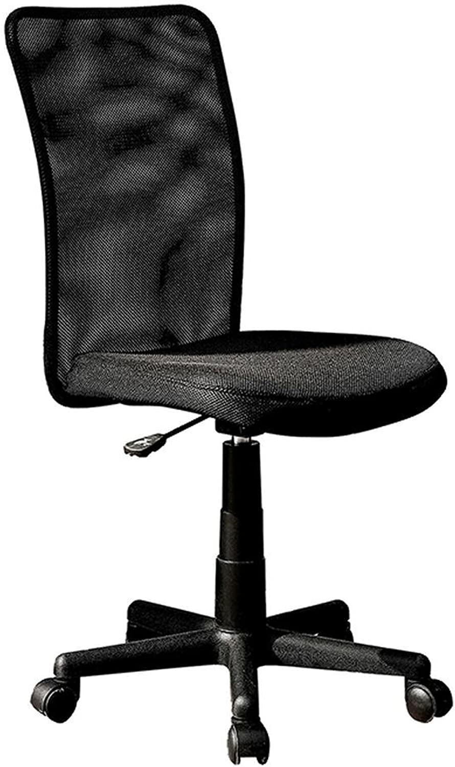 Techni Mobili Mesh Swivel Task Office Chair, Black