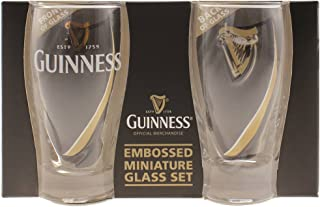 Guinness Mini Gravity Pint Glass, Set of 2 - Shot Glass Size