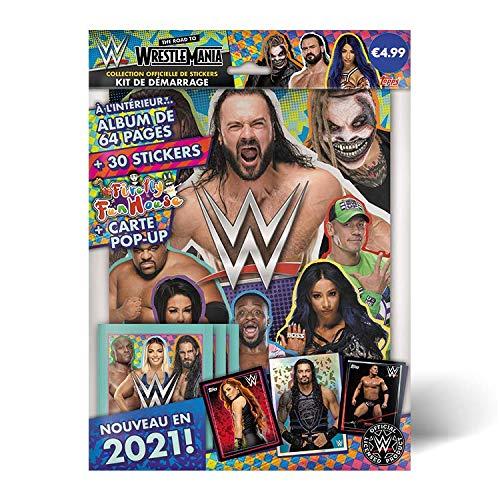 Topps WWE 2021 - Kit de iniciación