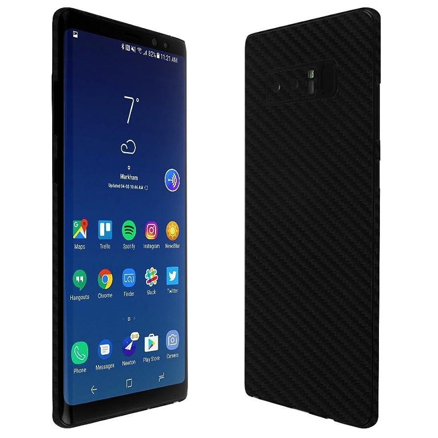 Galaxy Note 8 Screen Protector + Carbon Fiber Full Body, Skinomi TechSkin Carbon Fiber Skin for Galaxy Note 8 with Anti-Bubble Clear Film Screen