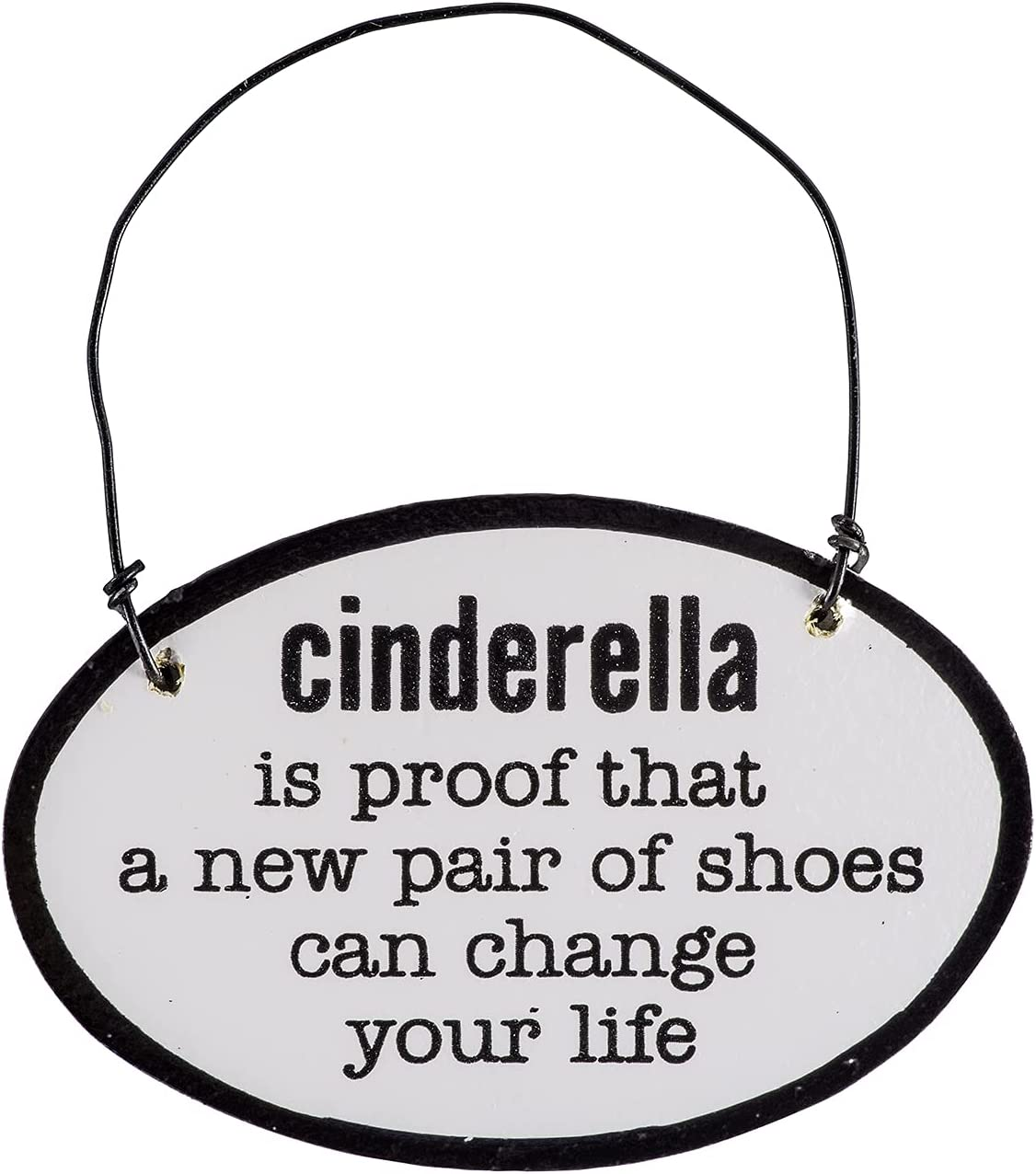 Cathedral Art Abbey & CA Gift Cinderella Sign, Multi