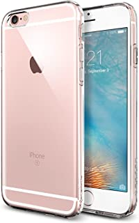 iPhone 6s Case, Spigen [Capsule] SOFT-FLEX [Crystal Clear] Premium Flexible Soft TPU / Extra Grip Case for iPhone 6 (2014) / 6s (2015) - Crystal Clear (SGP11753)
