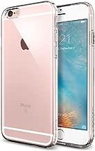 iPhone 6s Case, Spigen [Capsule] SOFT-FLEX [Crystal Clear] Premium Flexible Soft TPU / Extra Grip Case for iPhone 6 (2014) / 6s (2015) - Crystal Clear (SGP11753)