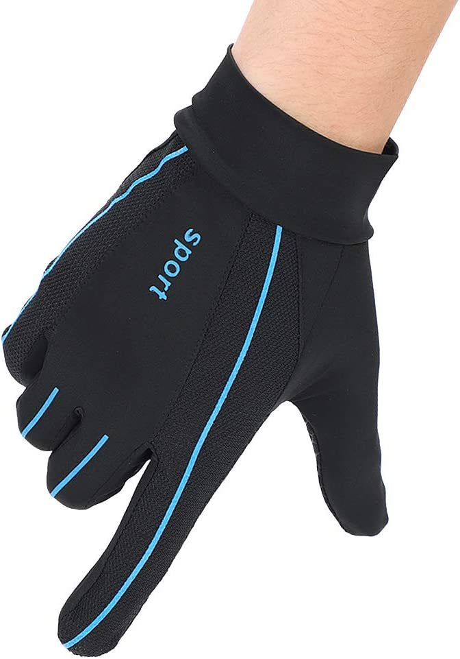 ITODA Year-end annual account Mesh Driving Gloves for Men Suns Summer Anti-UV Protection Max 44% OFF