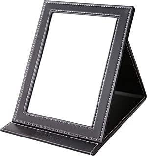 DUcare ドゥケア 鏡 卓上 ミラー スタンド 折りたたみ式 角度調整自由自在 コンパクトに収納可能