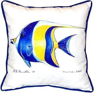 """Betsy Drake SN297 Moorish Idol Pillow, 11"""" x14"""""""