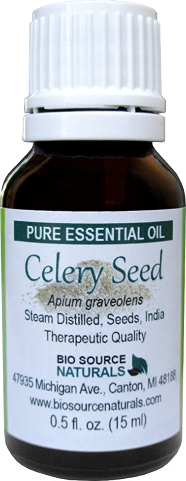 Celery Seed (Apium graveolens) Pure Essential Oil 1 fl oz / 30 ml - Therapeutic Quality - with COA - Aromatherapy for Joint Pain, Indigestion, Cellulite