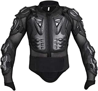 GES Motorcycle Body Protective Jacket Guard Motorbike Motorcross Armour Armor Racing Clothing Protection Gear (M)