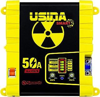 Fonte e Carregador Usina 50A Smart 12 Volts Battery Meter Bivolt